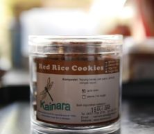Almond Red Rice Cookies